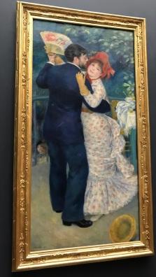 Dance at Bougival, Renoir 1883